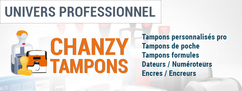 Chanzy Tampons : Univers Professionnel