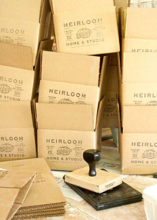 Packaging - Tampon personnalisé