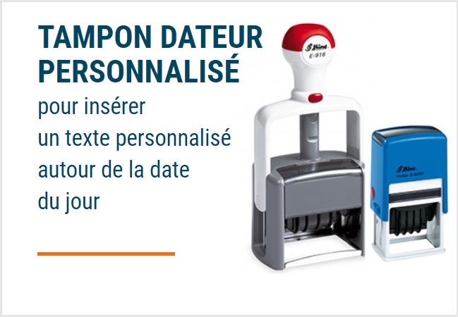 Tampon Dateur personnalisé Paris - Chanzy Tampons Paris