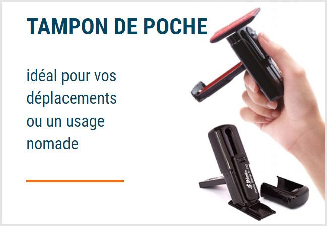 Tampon de poche personnalisé Paris - Chanzy Tampons Paris