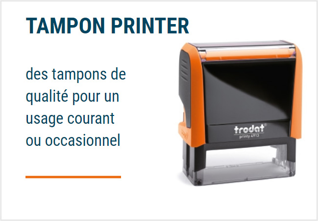 Tampon encreur Paris - Chanzy Tampons Paris