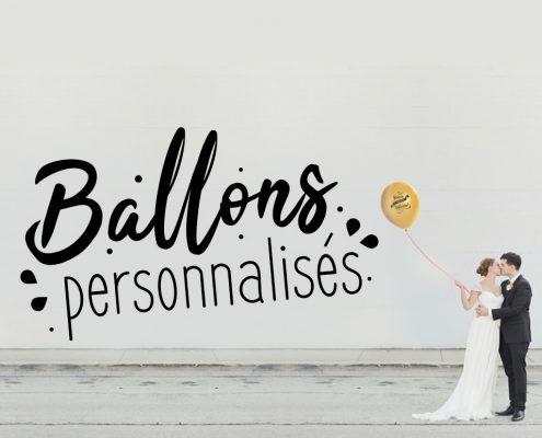 Ballon personnalisé Chanzy Tampons