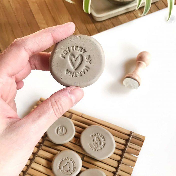 Tampon empreinte spécial poterie, terre, argile, céramique, pâte Fimo